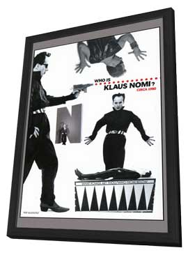 The Nomi Song - 11 x 17 Movie Poster - Style B - in Deluxe Wood Frame