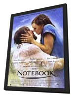 Notebook, The - 11 x 17 Movie Poster - Style D - in Deluxe Wood Frame