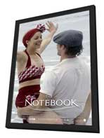 Notebook, The - 11 x 17 Movie Poster - Style Q - in Deluxe Wood Frame