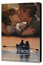 Notebook, The - 27 x 40 Movie Poster - Style H - Museum Wrapped Canvas