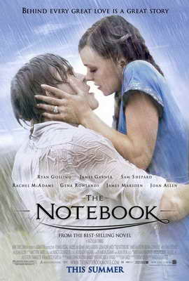 Notebook, The - 27 x 40 Movie Poster - Style A