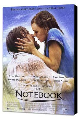 Notebook, The - 11 x 17 Movie Poster - Style D - Museum Wrapped Canvas