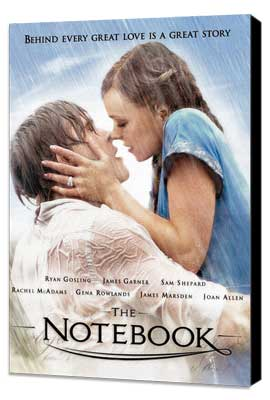 Notebook, The - 11 x 17 Movie Poster - Style F - Museum Wrapped Canvas
