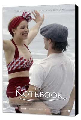 Notebook, The - 11 x 17 Movie Poster - Style Q - Museum Wrapped Canvas