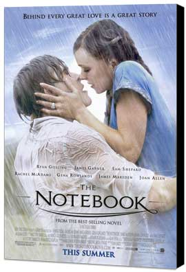 Notebook, The - 27 x 40 Movie Poster - Style A - Museum Wrapped Canvas