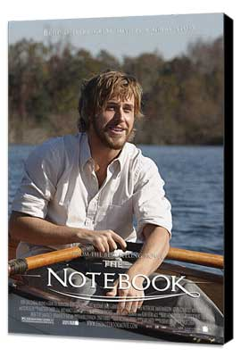 Notebook, The - 27 x 40 Movie Poster - Style I - Museum Wrapped Canvas