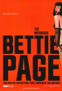 The Notorious Bettie Page - 27 x 40 Movie Poster - Style A