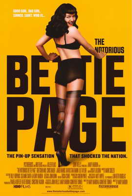 The Notorious Bettie Page - 11 x 17 Movie Poster - Style B