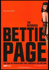 The Notorious Bettie Page - 43 x 62 Movie Poster - Bus Shelter Style A