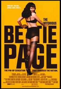 The Notorious Bettie Page - 43 x 62 Movie Poster - Bus Shelter Style B