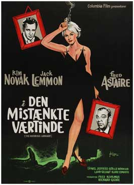 Notorious Landlady - 11 x 17 Movie Poster - Danish Style A