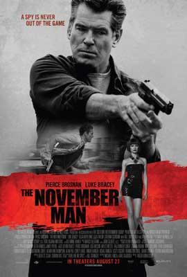 The November Man - 27 x 40 Movie Poster - Style A