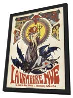 The Nude Vampire - 11 x 17 Movie Poster - French Style A - in Deluxe Wood Frame