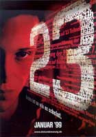 The Number 23 - 11 x 17 Movie Poster - German Style A