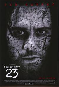 The Number 23 - 43 x 62 Movie Poster - Bus Shelter Style A