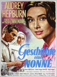 Nun's Story, The - 11 x 17 Movie Poster - German Style B