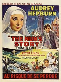 Nun's Story, The - 11 x 17 Movie Poster - Belgian Style A