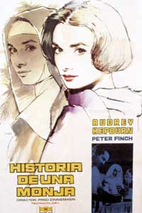 Nun's Story, The - 11 x 17 Movie Poster - Italian Style D
