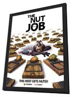 The Nut Job - 27 x 40 Movie Poster - Style A - in Deluxe Wood Frame