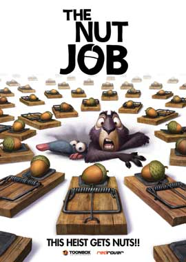 The Nut Job - 27 x 40 Movie Poster - Style A