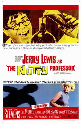 The Nutty Professor - 11 x 17 Movie Poster - Style A