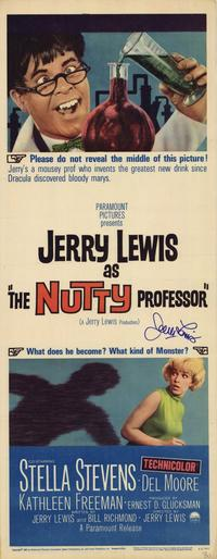 The Nutty Professor - 14 x 36 Movie Poster - Insert Style A