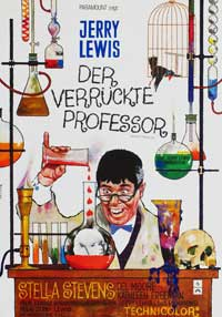 The Nutty Professor - 27 x 40 Movie Poster - German Style A