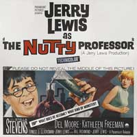 The Nutty Professor - 30 x 30 Movie Poster - Style A