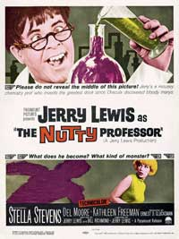 The Nutty Professor - 11 x 17 Movie Poster - Style E