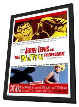 The Nutty Professor - 11 x 17 Movie Poster - Style A - in Deluxe Wood Frame