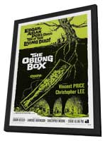 The Oblong Box - 27 x 40 Movie Poster - Style A - in Deluxe Wood Frame