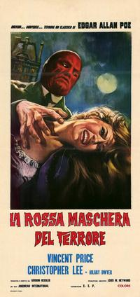 The Oblong Box - 11 x 17 Movie Poster - Italian Style A