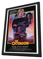 Octagon - 27 x 40 Movie Poster - Style A - in Deluxe Wood Frame