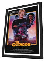 Octagon - 11 x 17 Movie Poster - Style B - in Deluxe Wood Frame
