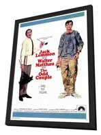The Odd Couple - 27 x 40 Movie Poster - Style A - in Deluxe Wood Frame