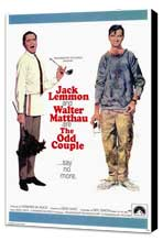 The Odd Couple - 11 x 17 Movie Poster - Style A - Museum Wrapped Canvas