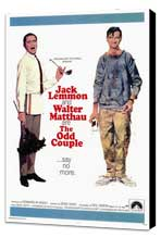 The Odd Couple - 27 x 40 Movie Poster - Style A - Museum Wrapped Canvas
