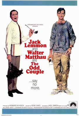 The Odd Couple - 11 x 17 Movie Poster - Style A
