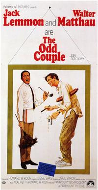 The Odd Couple - 11 x 17 Movie Poster - Style B