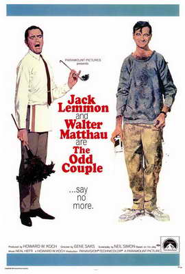 The Odd Couple - 27 x 40 Movie Poster - Style A