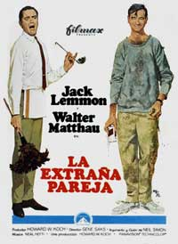 The Odd Couple - 11 x 17 Movie Poster - Spanish Style B