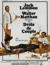 The Odd Couple - 11 x 17 Movie Poster - French Style A