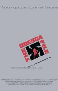 The Odessa File - 27 x 40 Movie Poster - Style B