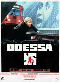 The Odessa File - 27 x 40 Movie Poster - Spanish Style A