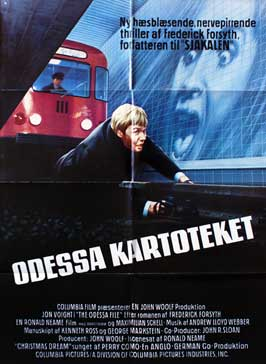 The Odessa File - 11 x 17 Movie Poster - Danish Style A