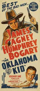 Oklahoma Kid - 14 x 36 Movie Poster - Insert Style B