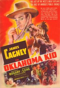 Oklahoma Kid - 11 x 17 Movie Poster - Style G