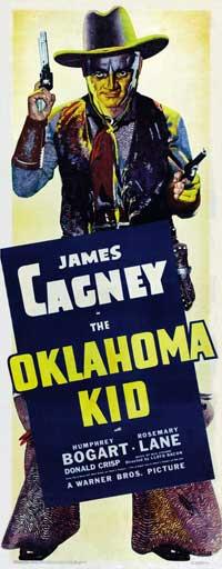 Oklahoma Kid - 20 x 60 - Door Movie Poster - Style A