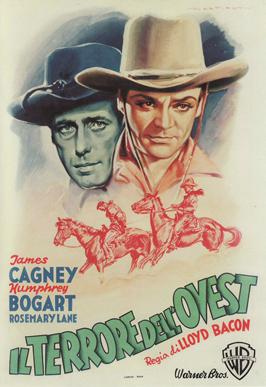 Oklahoma Kid - 11 x 17 Movie Poster - Italian Style B