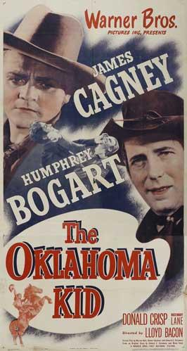 Oklahoma Kid - 11 x 17 Movie Poster - Style H